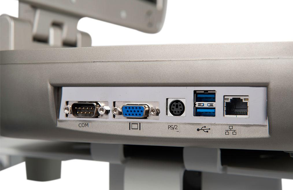 Connectique et ports Orcheo Lite