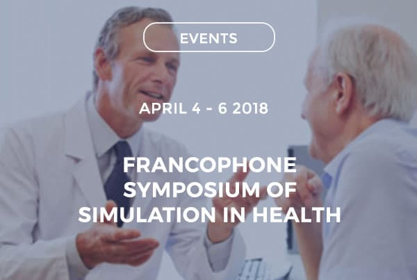 Francophone symposium of simulation in health