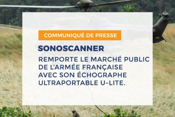 Actualité Sonoscanner Armée