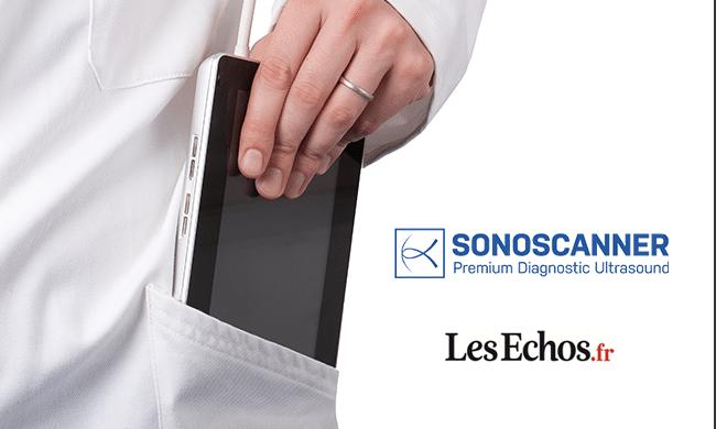 Sonoscanner, élu champion de la croissance 2020 par Les Echos.