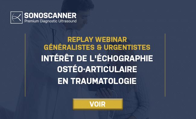 Replay : Intérêt de l'échographie ostéo-articulaire en traumatologie