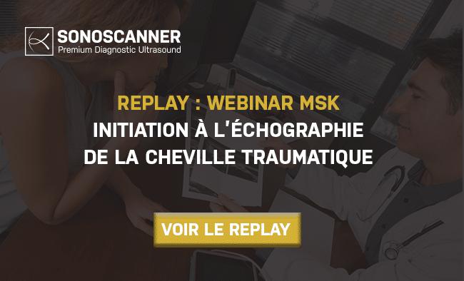 Replay : Initiation à l'échographie de la cheville traumatique