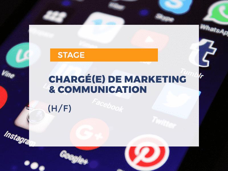 Chargé.e Marketing et Communication