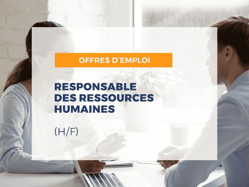 Responsable des ressources humaines F/H